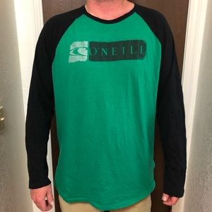 O'Neill long sleeve baseball tee-shirt